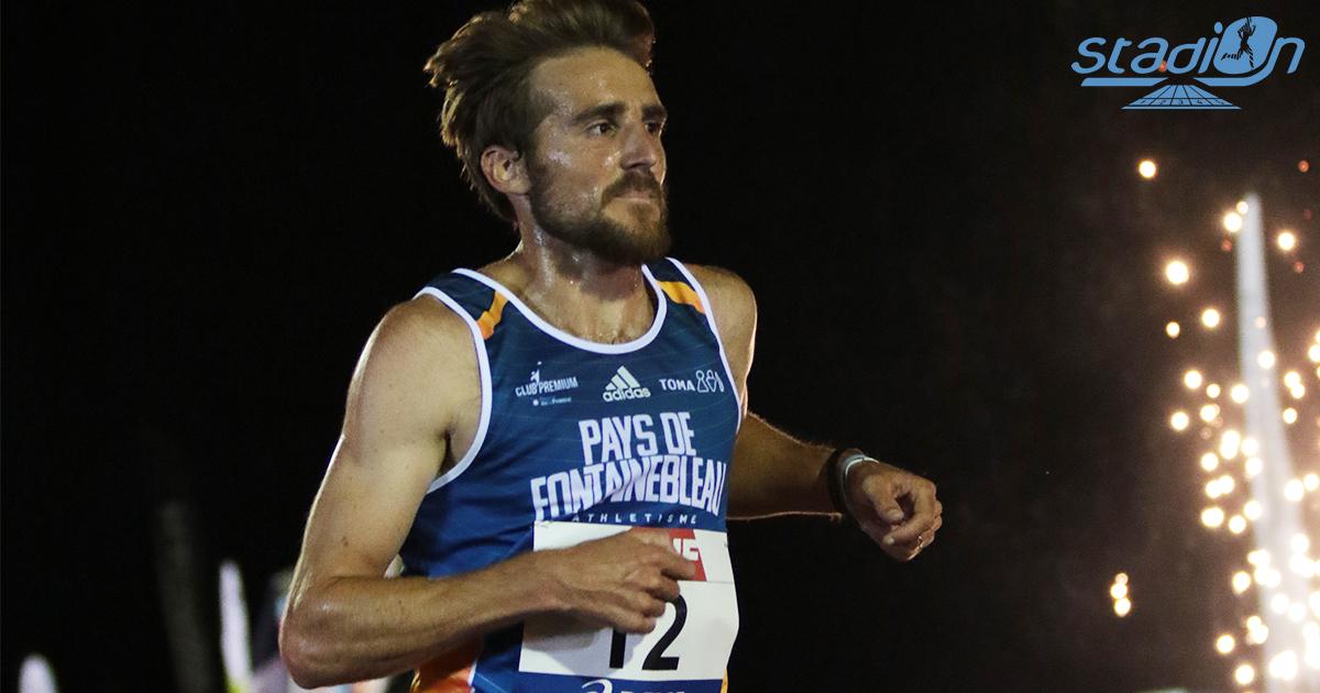 """Lors des Championnats de France du 10 000 m à Pacé dimanche, Florian Carvalho a conservé sa couronne nationale dans le chrono de 27'55""""68."""