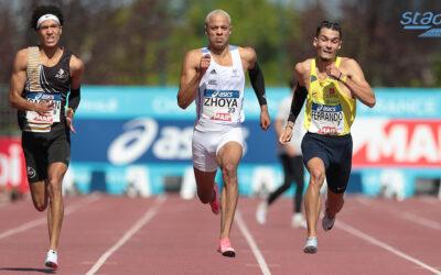 Meeting de La Roche-sur-Yon : Sasha Zhoya et Christophe Lemaitre au duel sur 200 m