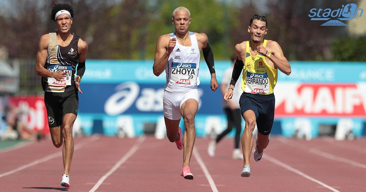 Le Meeting d'athlétisme de La Roche-sur-Yon proposera au public un duel très alléchant sur 200 m entre Sasha Zhoya et Christophe Lemaitre le vendredi 3 septembre.