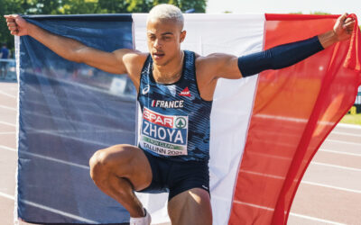 Titre et record du monde juniors pour Sasha Zhoya sur 110 m haies