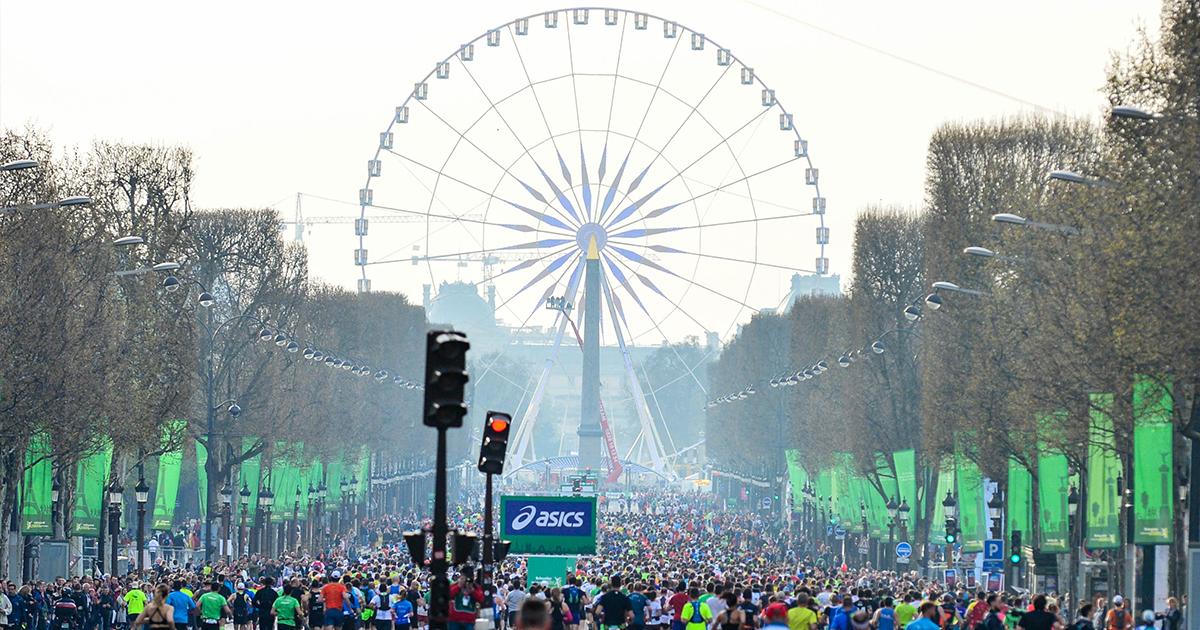 La marque nippone ASICS et le Schneider Electric Marathon de Paris ont reconduit leur partenariat jusqu'à l'édition 2025 incluse.