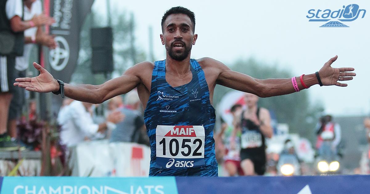 Morhad Amdouni (28'27) et Mekdes Woldu (33'02) ont dominé les débats lors des Championnats de France des 10 km à Langueux ce samedi, disputés dans une ambiance chaleureuse et conviviale.