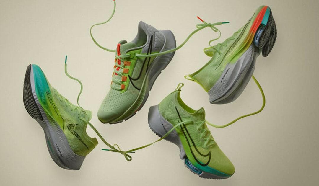"""Air Zoom Alphafly Next% : Nike révèle un nouveau coloris """"Volt"""""""
