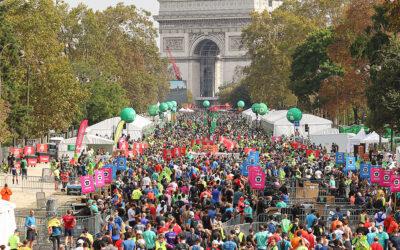 Nos plus beaux clichés du Marathon de Paris 2021