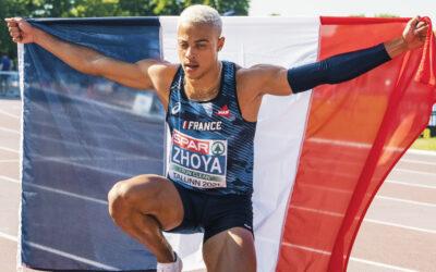 Sasha Zhoya remporte le trophée «Rising Star» de l'athlétisme européen